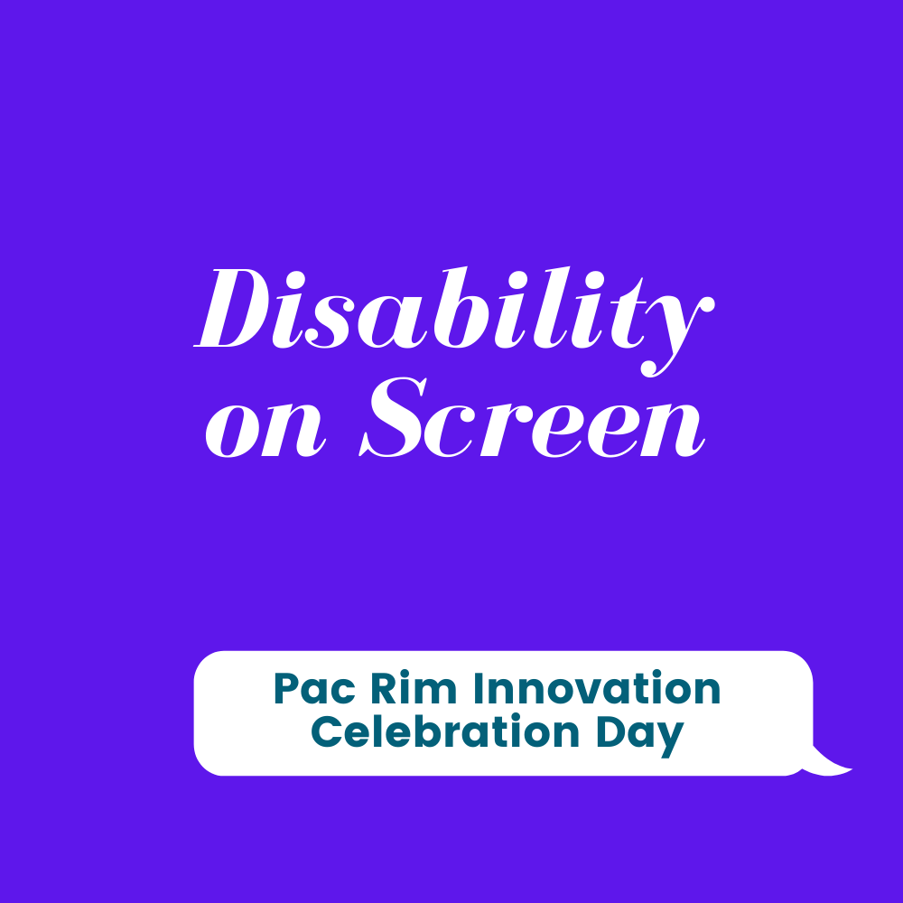 Opportunities and Obstacles: Representations of Disability in Film and Media