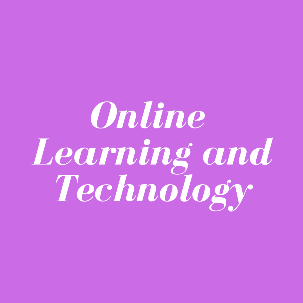 Online Learning and Technology – Live