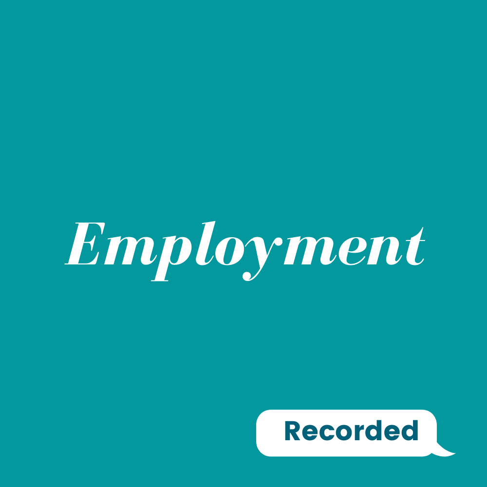 Read more about the article Employment Support Professionals and the Skills Required to Support Employment (On Demand: Recorded)
