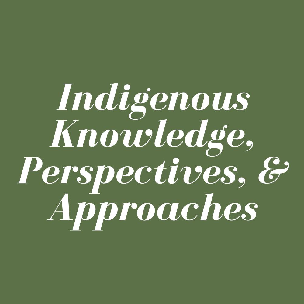 Indigenous – Live