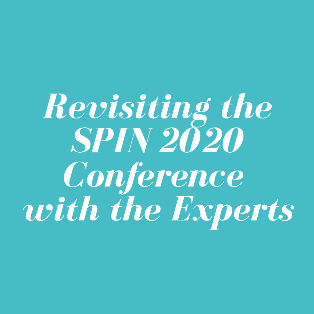 Revisiting the SPIN 2020 Conference with the Experts