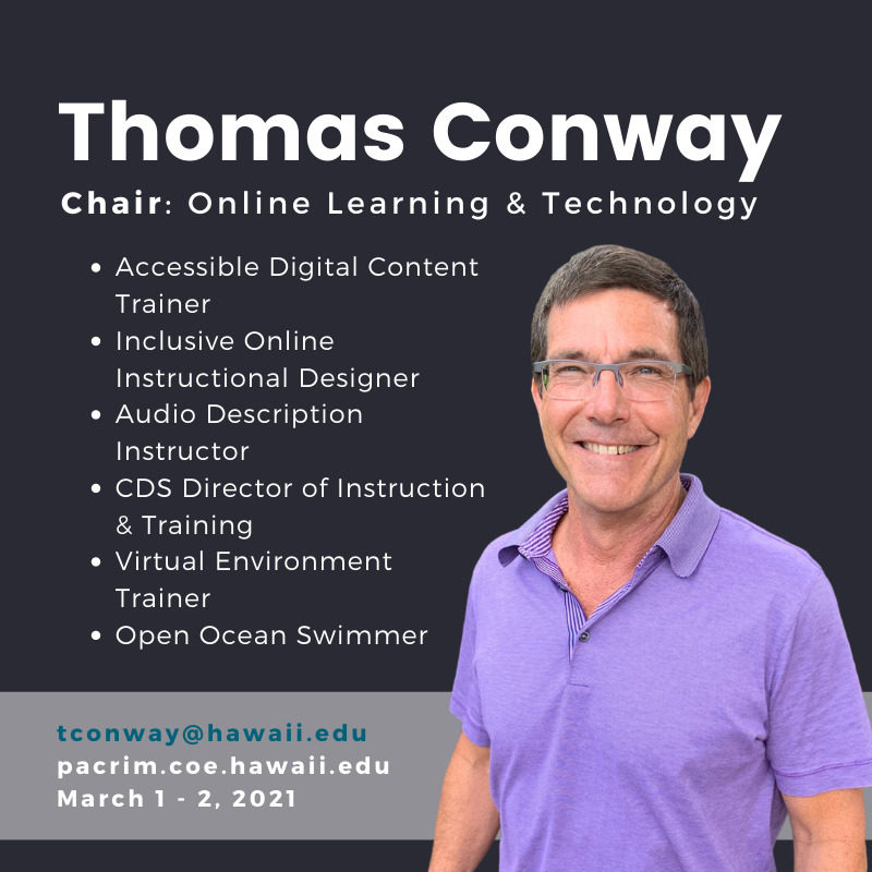 PHOTO of Thomas and TEXT