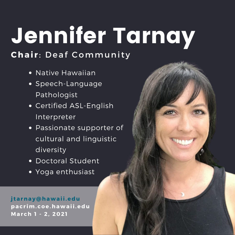 PHOTO of Jennifer Tarnay and TEXT