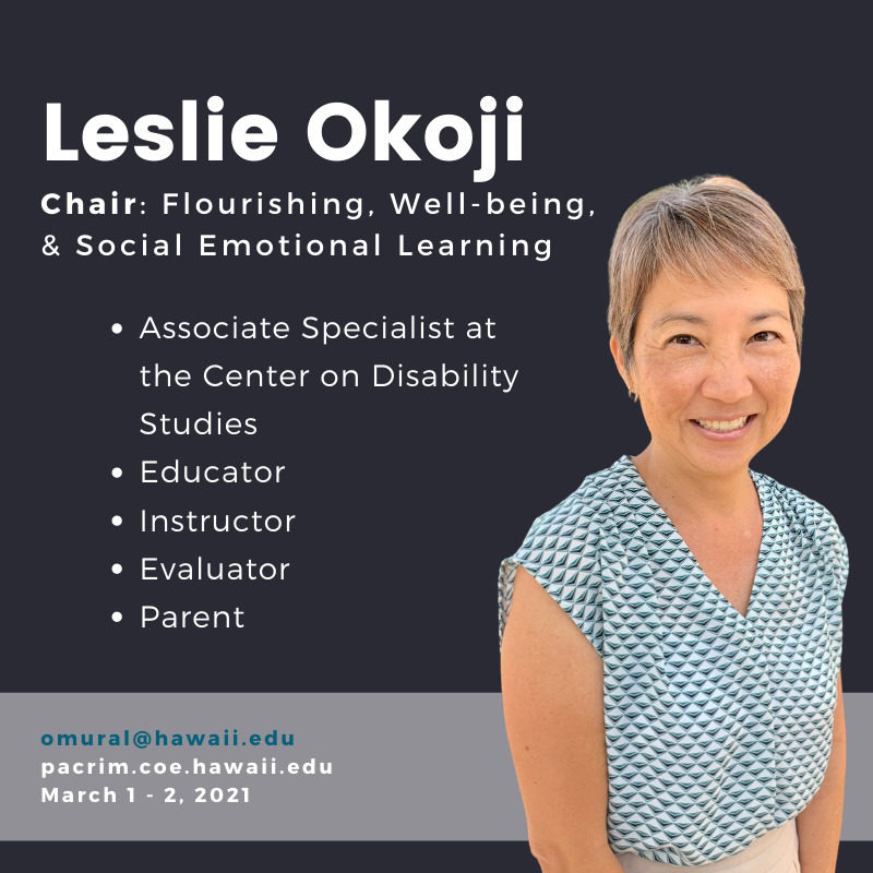 PHOTO of Leslie Okoji and TEXT