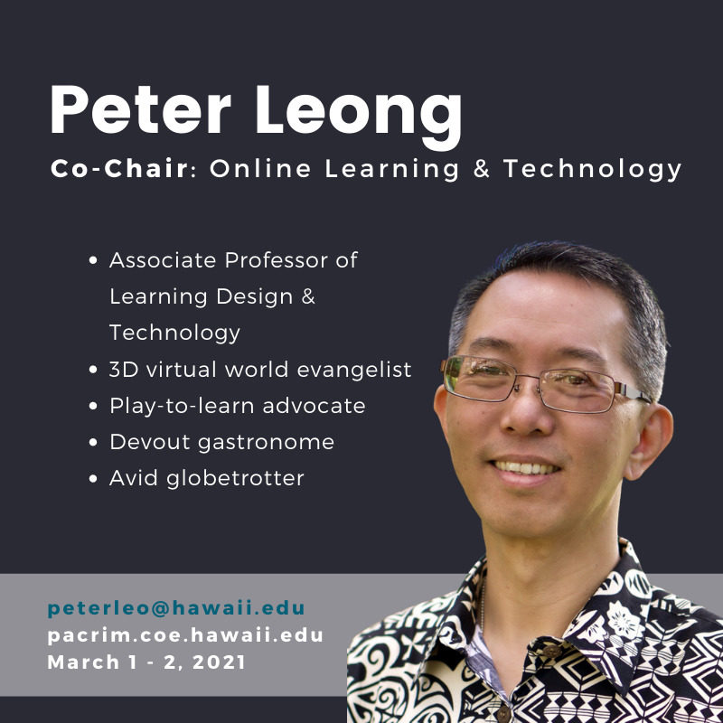 PHOTO of Peter and TEXT