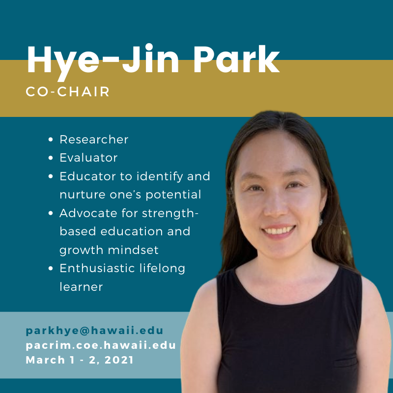 Photo of Hye-Jin and text