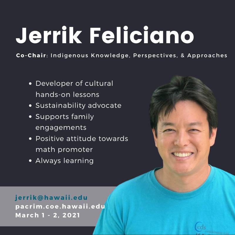 PHOTO of Jerrik Feliciano. TEXT