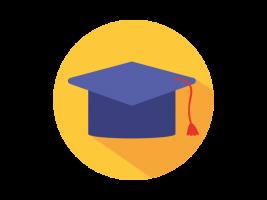 Education Strand - Graduation cap