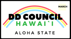 DD Council Hawaii (Aloha State) on Hawaii license plate